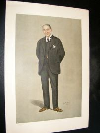 Vanity Fair Print 1898 Henry Bonsor, Freemason